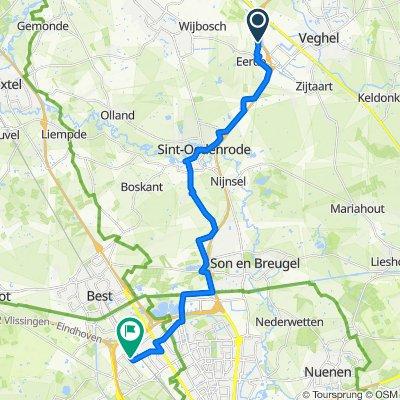 Grootdonkweg 10, Veghel do Weijerbeemd 9, Eindhoven