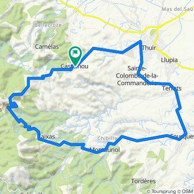 35 k autour de Castelnou