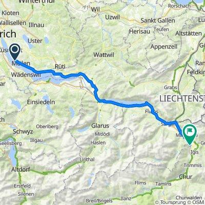 General-Wille-Strasse 61, Meilen nach Tardis 1, Landquart