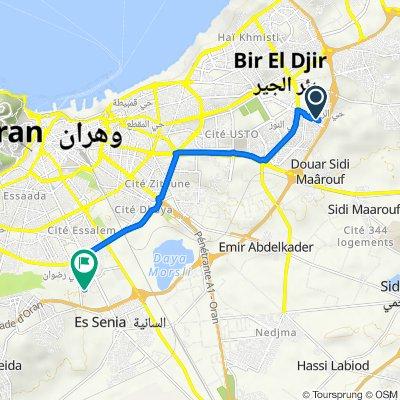 De Boulvard Des Lions, Bir El Djir à Unnamed Road, Oran