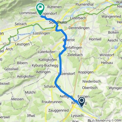 Eystrasse 73A, Kirchberg (BE) nach Brombeerweg 16, Bellach