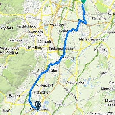 Triester Straße 72-74, Oeynhausen nach Schautagasse 32, Wien