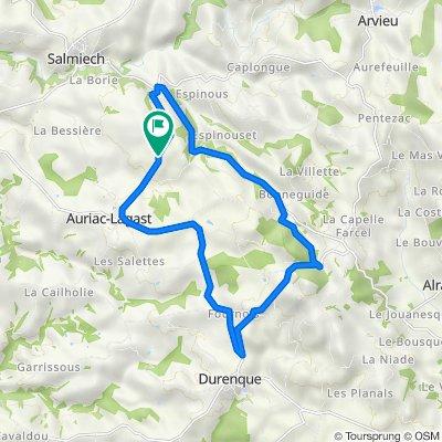 De La Malborie, Auriac-Lagast à La Malborie, Auriac-Lagast