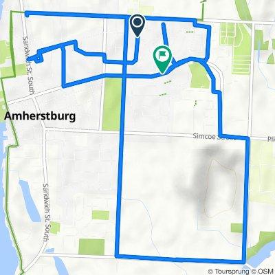 51 Venetian Dr, Amherstburg to 504 Richmond St, Amherstburg