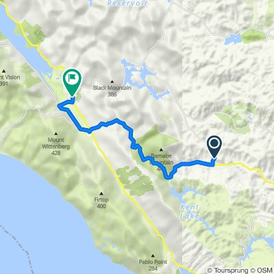 153–199 Nicasio Valley Rd, Lagunitas to 12 Toby St, Point Reyes Station