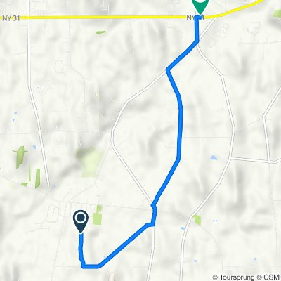 200–256 Stonefield Ln, Farmington to 1215 NY-31, Macedon