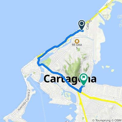 De Carrera 4 66-1, Cartagena a Calle 37 3041, Cartagena