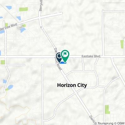 13813 Hollywood Dr, Horizon City to 461 Cedarwood Ave, Horizon City