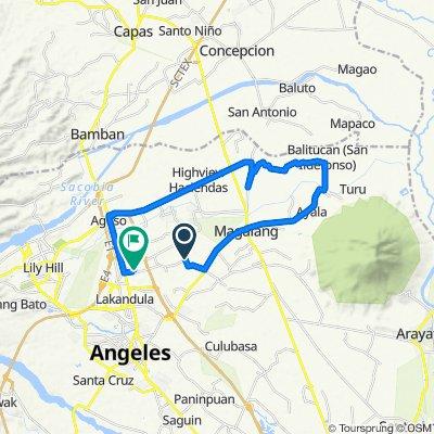Unnamed Road, Mabalacat to San Joaquin 10, Mabalacat