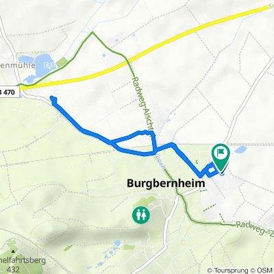 Honigbirnenweg 7a, Burgbernheim nach Honigbirnenweg 4, Burgbernheim