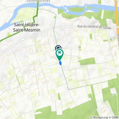De 600 Rue du Haut Midi, Saint-Hilaire-Saint-Mesmin à 721 Rue du Haut Midi, Saint-Hilaire-Saint-Mesmin