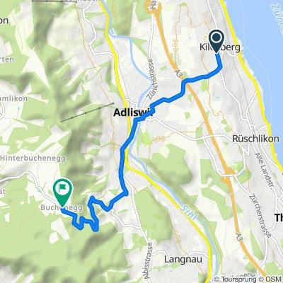 Schützenmattstrasse, Kilchberg ZH nach Buchenegg, Buchenegg