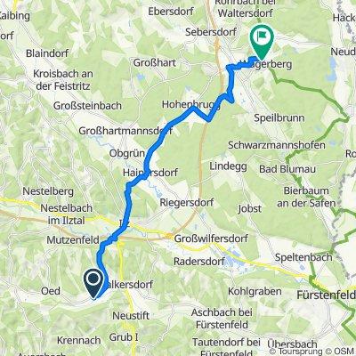 Ottendorf 242, Ottendorf an der Rittschein nach Wagerberg 30