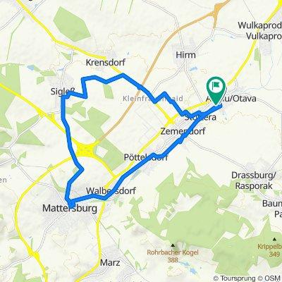 Antau - Oktaeder - Mattersburg - Antau