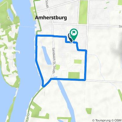 Hawthorn Crescent 272, Amherstburg to Hawthorn Crescent 276, Amherstburg