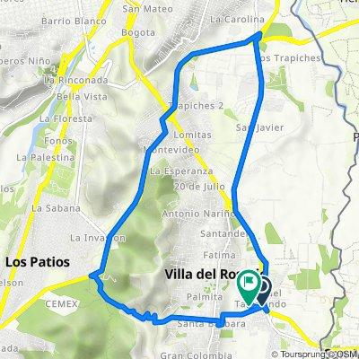 De 70, Villa Del Rosario a Unnamed Road