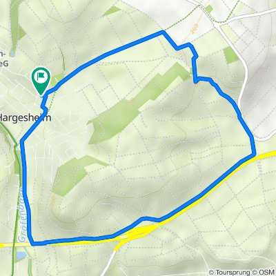 Ostpreussenstraße 12–16, Hargesheim nach Ostpreussenstraße 14, Hargesheim