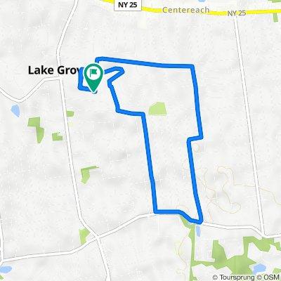 Kimberley Court 10, Lake Grove to Kimberley Court 10, Lake Grove