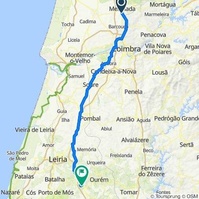 Rota desde Avenida Cidade Coimbra 3–23, Mealhada
