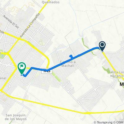 De Avenida San Juan #1566, Machalí a Don Rodrigo 132, Rancagua