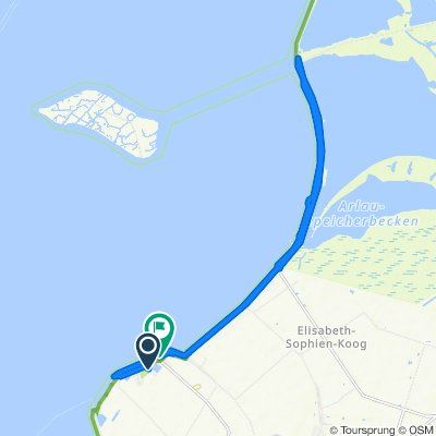 Am Kurhaus 10, Nordstrand nach Norderhafen 20, Nordstrand