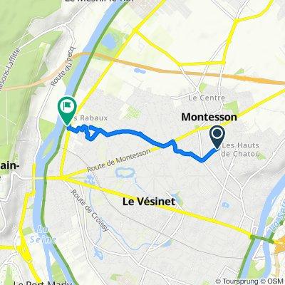 Itinéraire à partir de 127 Route de Maisons, Chatou