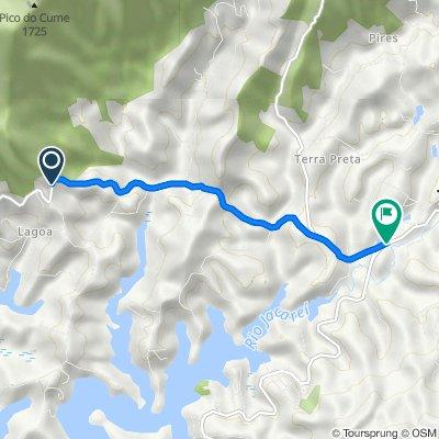 De Rodovia Entre Serras e Aguas 2222 a SP-036