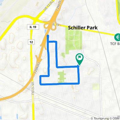 3803 Emerson Dr, Schiller Park to 3803 Emerson Dr, Schiller Park