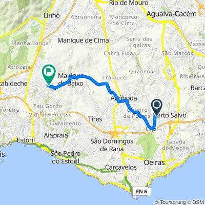 De Rua Nuno Bragança 2–6A, Porto Salvo a Rua da Chapaneira, Alcabideche