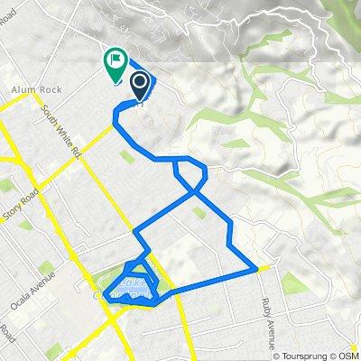 14865 Story Rd, San Jose to 3491 Loes Way, San Jose