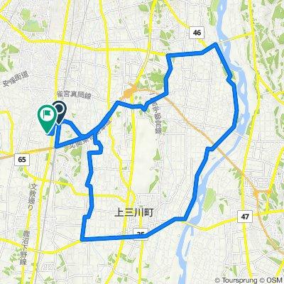 843, Mobaracho, Utsunomiya to 3362, Shimokoyama, Shimotsuke