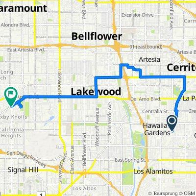Bloomfield Street 22221, Cypress to East San Antonio Drive 1190, Long Beach