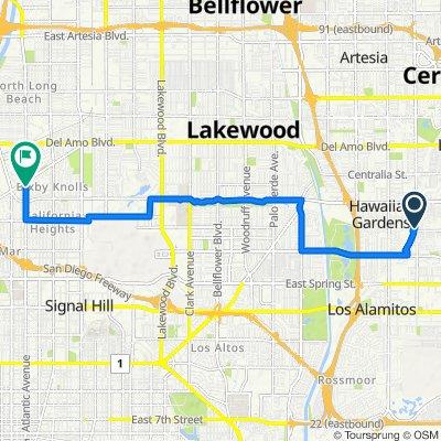 Brighton Circle 4016, Cypress to Atlantic Avenue 4358, Long Beach