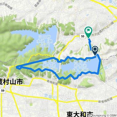 ファミリーマート西武園西店, 所沢市 to 2705−43, 所沢市