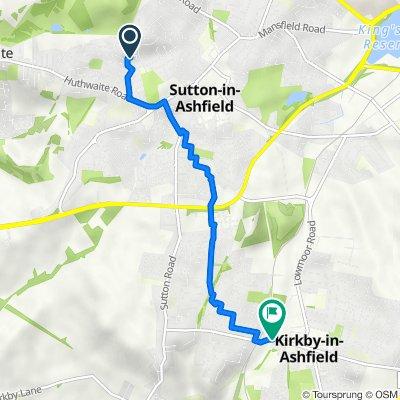 5 Ashgate, Sutton-In-Ashfield to 37 Urban Road, Nottingham