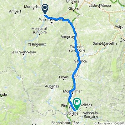 De 2–6 Allée Les Grandes Camélines, Andrézieux-Bouthéon à 417–481 Chemin Saint-Michel, Solérieux