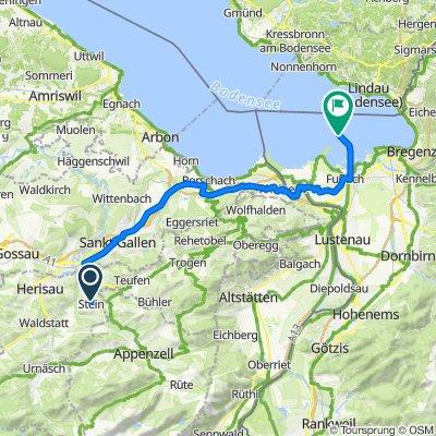 Route von Dorf 20–21, Stein AR