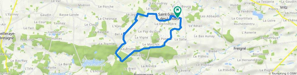 De Saint-Pierre, Vallons-de-L'Erdre à Saint-Pierre, Vallons-de-L'Erdre
