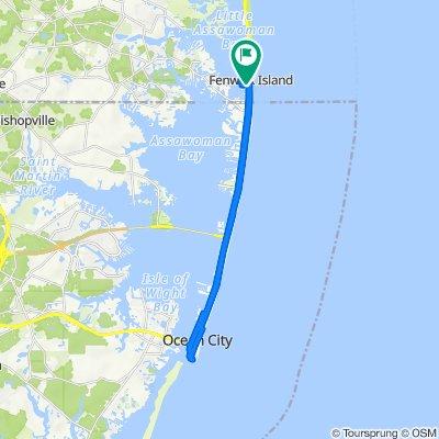 7 W Dagsboro St, Fenwick Island to 11 W Dagsboro St, Fenwick Island