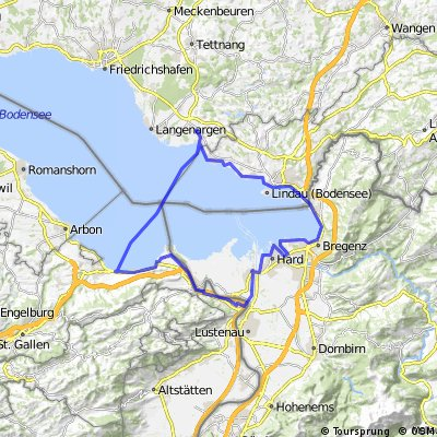 3 Länder Tour am Bodensee