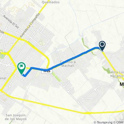 De Avenida San Juan #1566, Machalí a Don Rodrigo 141, Rancagua