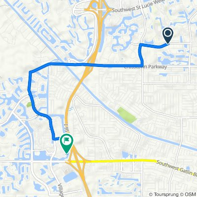De SW Heatherwood Blvd, Port Saint Lucie a 10864 SW Village Pkwy, Port Saint Lucie