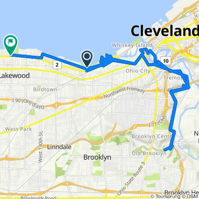 Upper Edgewater Drive 1, Cleveland to Cook Avenue 1137, Lakewood