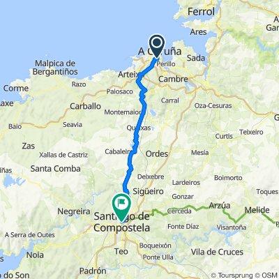 Coruña - Santiago