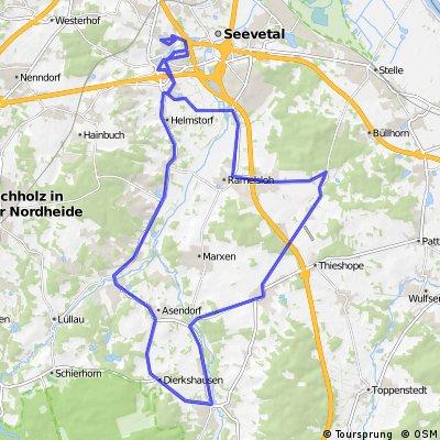 Hittfeld - Hanstedt - Hittfeld