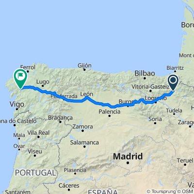 Camino Frances Pamplona-Santiago