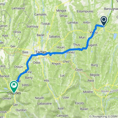 10. Via Tolosana: Trie-sur-Baise - Lourdes