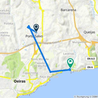 De Rua Matias Filipe 4A, Porto Salvo a Estrada da Gibalta 7, Caxias