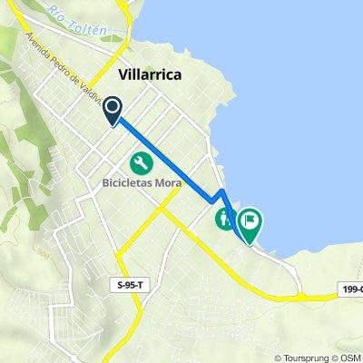 Villarrica hasta Playa Villarrica