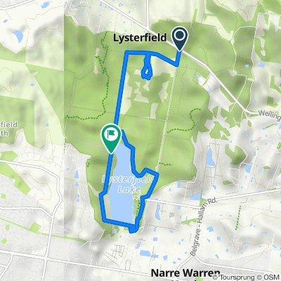 East West Break, Lysterfield to Casuarina Track, Lysterfield